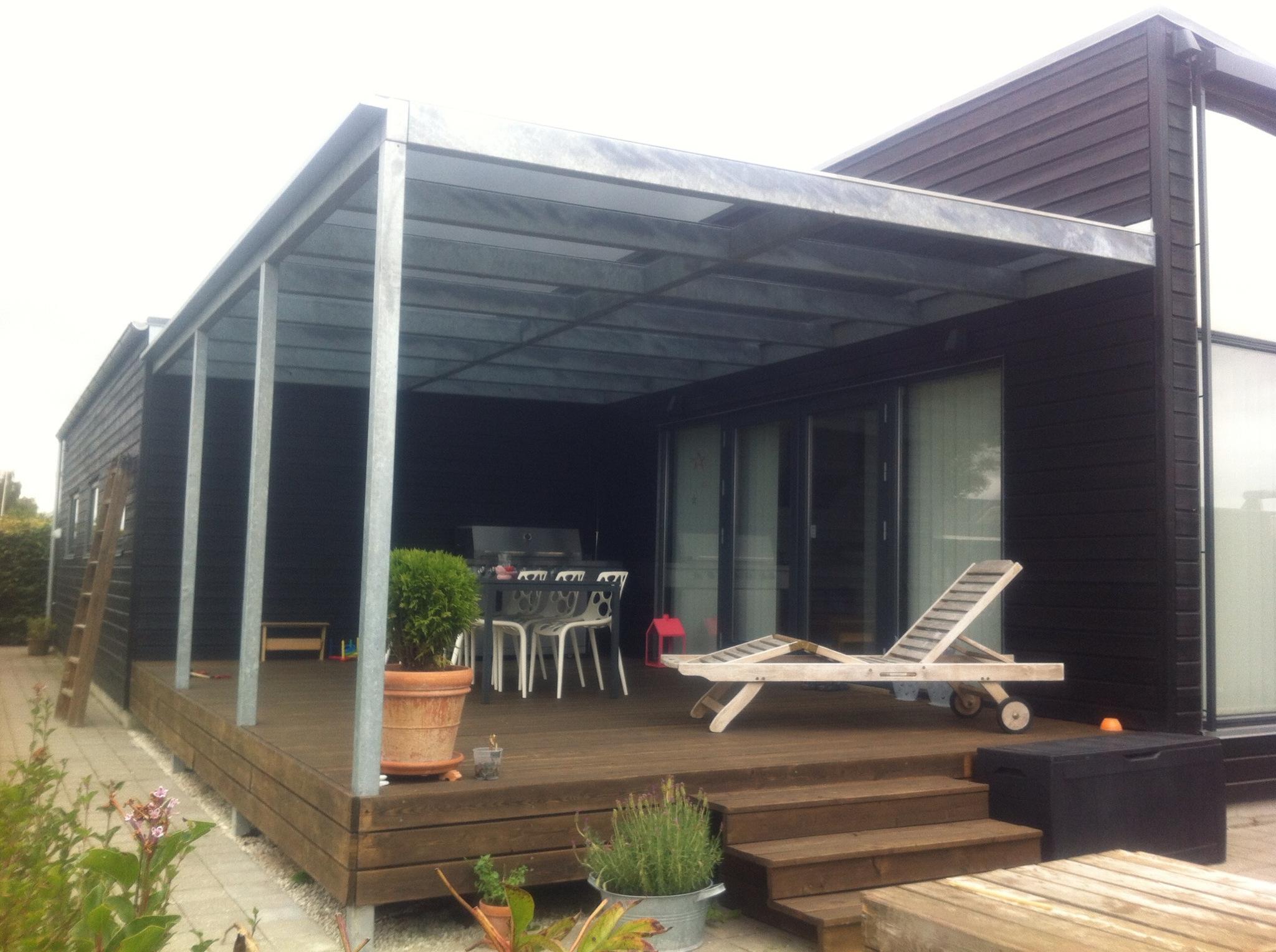 #8A7041 Mest effektive Terrasse Design Smedien Gør Det Selv Overdækket Terrasse 5875 204815285875