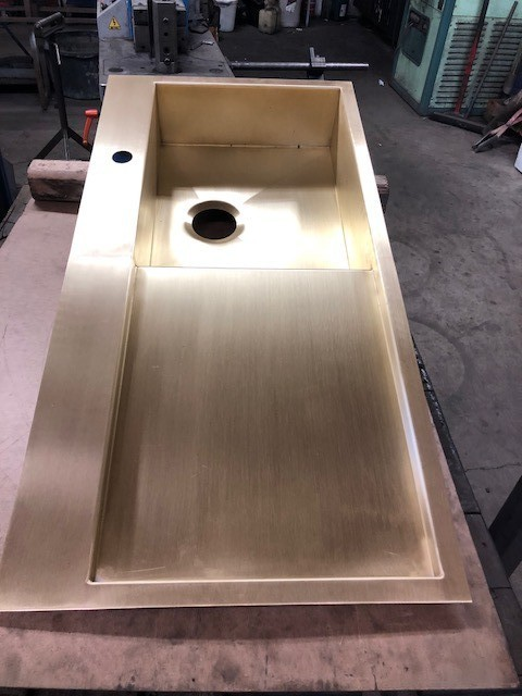 Messing vask